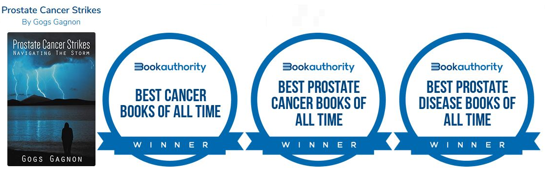 bookauthority awards for prostate cancer strikes